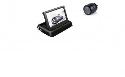 Set monitor rabatabil cu camera fata