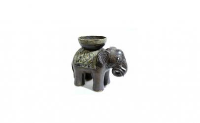 Suport Lumanare Elefant, Ceramica