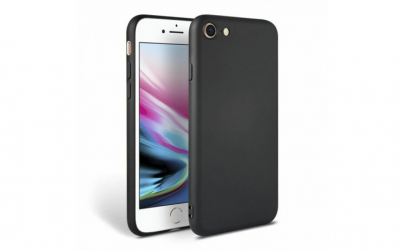 Husa iPhone 8 Negru Silicon Slim