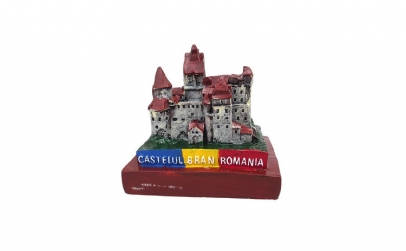 Macheta - Castelul Bran 11x10 cm