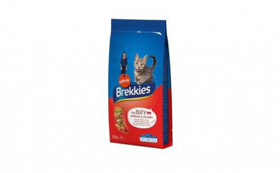 Hrana uscata pentru pisici Brekkies Cat