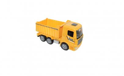 Jucarie camioneta de pietris galbena