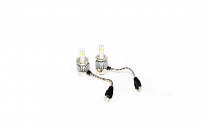 Set de doua becuri cu LED auto H7