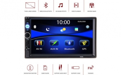 MP5 PLayer Auto 2DIN - 7'', GPS, Touch