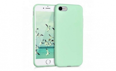 Husa iPhone 8 Verde Silicon Slim