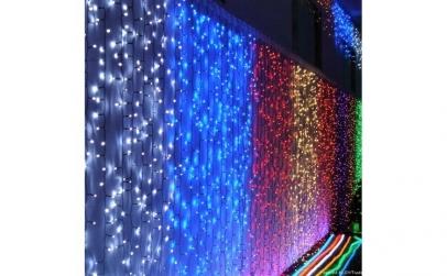 Instalatie LED Perdea Ploaie 6x3m