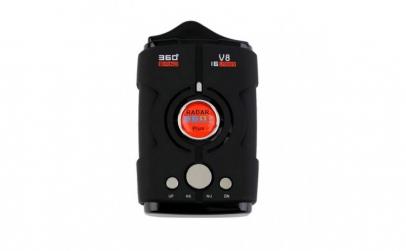 Detector Radar Auto V8 Cu Laser  Alerta