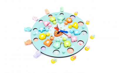 Joc lemn Montessori 7 in 1 Funny Toy