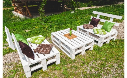 Set mobilier de gradina europaleti