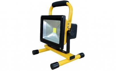 Proiector LED 20W Acumulator si Suport