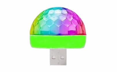 Glob disco multicolor