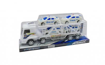 Set Camion tip Tir cu Remorca si 4