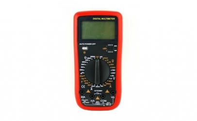 Multimetru digital 9208u, carcasa anti
