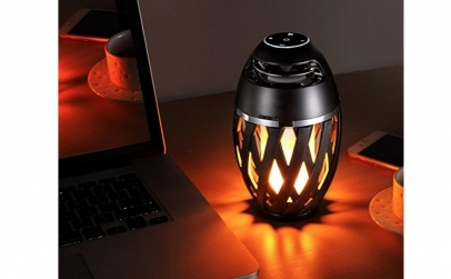 Boxa Bluetooth cu lampa flacara