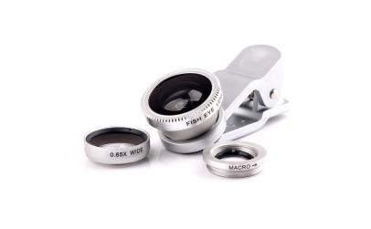 Set 3 lentile foto pentru telefon