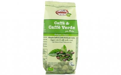 Cafea & Cafea verde BIO - 250 g Salomoni