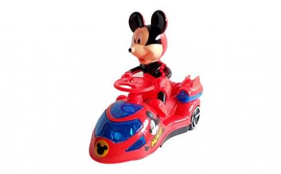 Masinuta Mickey Mouse , cu luminite si
