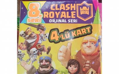 Set 480 cartonase Clash Royal seria 8
