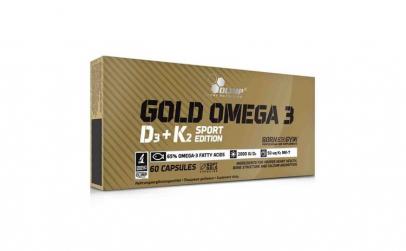 Gold Omega 3  D3   K2 Sport Edition