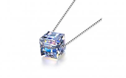 Lantisor din argint Swarovski® Crystals