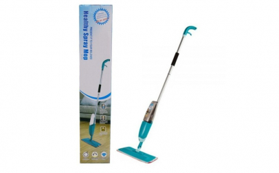 Mop microfibra spray cu rezervor pulveri