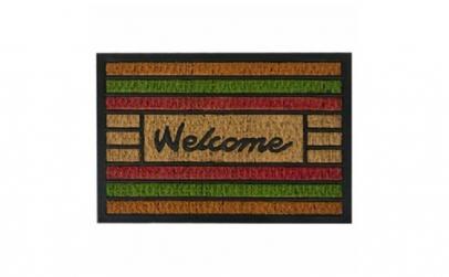 """Covor intrare mesaj """"Welcome"""" 60X40 cm"""
