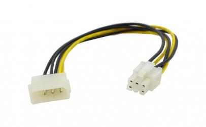 Cablu alimentare EATX12V 6 pin tata -