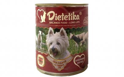 Hrana umeda caini Dietetika Miel, 400 gr