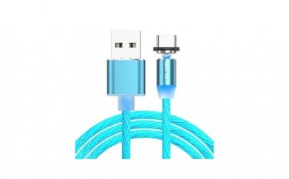 Cablu USB LED Fast + Incarcator Auto