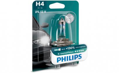 Bec Philips 12v 60/55w H4 x-tremevision