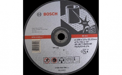 Bosch Disc AS 46 T 230 22 23 2 mm