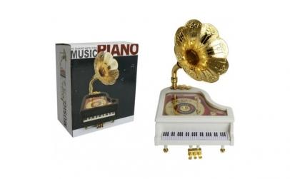 Cutiuta muzicala de plastic