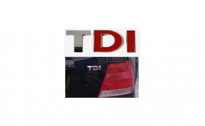 Emblema metalica TDI