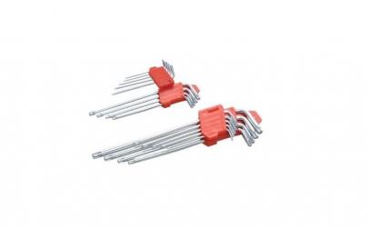 Set chei torx L 9 buc (T10-T70 mm) 6581,