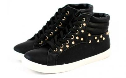 Pantofi Sport dama cu tinte - Negru