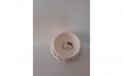Castron pentru hrana pisici, 10 cm