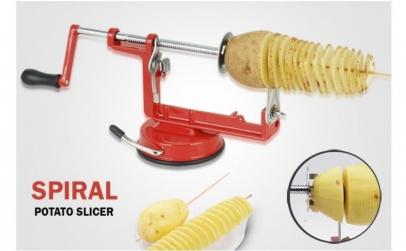 Masina pentru taiat cartofi in spirala