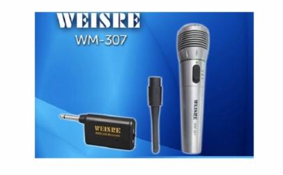 Microfon wireless pentru karaoke