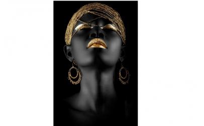 Tablou tribal black woman