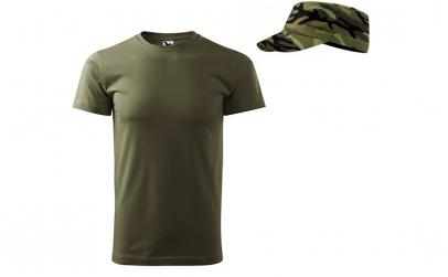 Tricou + sapca military