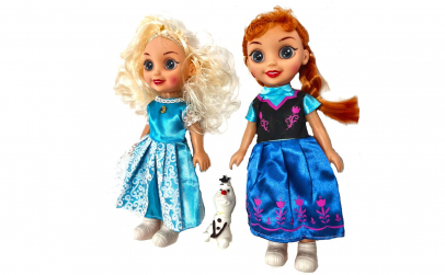 Set Frozen Elsa, Ana canta Let it go