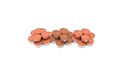 30 lumanari parfumate pastile - piersica
