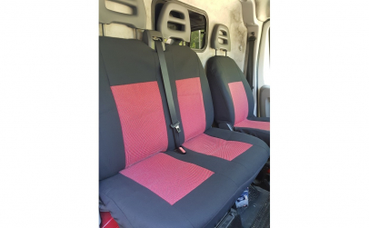 Set huse scaune auto fata ( 2+1 )