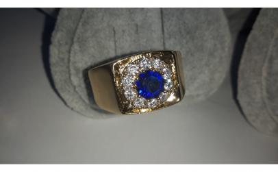 Inel Barbati Luxury Briliant Sapphire