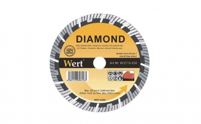 Disc diamantat segmentat turbo Wert