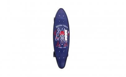 Skateboard cu roti silicon cu leduri