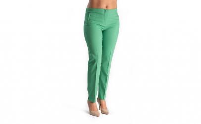 Pantaloni Eleganti Dama Verzi 40