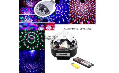 Glob disco cu mp3 player + bec
