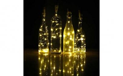 Dop de sticla LED - 2 bucati