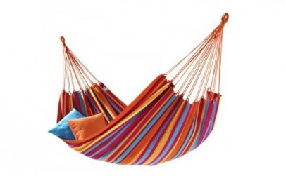 Hamac multicolor pentru relaxare